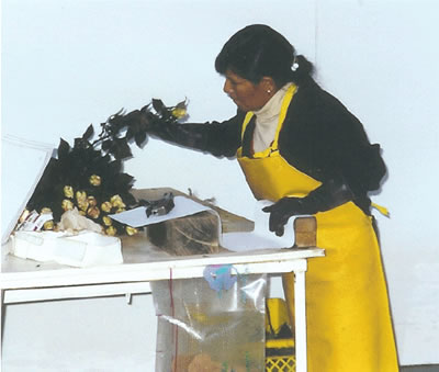 Obrera ecuatoriana