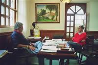 Heberto Muñóz y Vladimir Castañeda