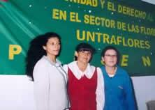 Aidé Silva, Argenis Bernal y Beatriz Fuentes